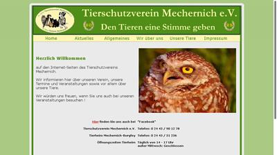 Tierschutzverein Mechernich e.V. (Tierheim Mechernich)