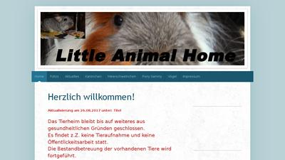 Little Animal Home